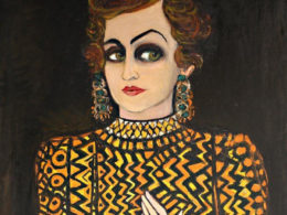 1980, oil on canvas, 210 × 116 cm, The Raad Zeid Al-Hussein Collection