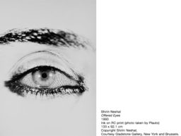 SHIRIN NESHAT AT MATHAF ARAB MUSEUM OF MODERN ART