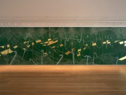 Jorinde Voigt'un duvar deseni Houston, Menil Drawing Institute'ta