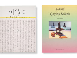 Ayşe Erkmen and Sarkis books by Arter