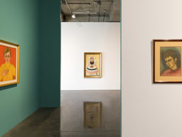 "Virtual tour and e-catalogue of Fahrelnissa Zeid's ""A Three‐Character Play"" exhibition"