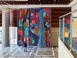 Summer Wheat's permanent installation at Lincoln Harris' 650 S. Tryon building